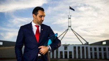 Australian of the Year Adam Goodes: A man of 'astounding tolerance'.