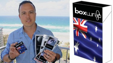 Box Wrap founder Anthony Do Rozario.