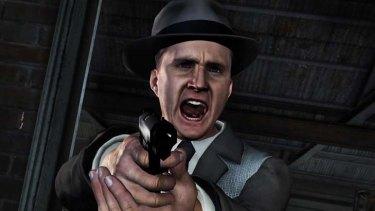 A screenshot from L. A Noire.