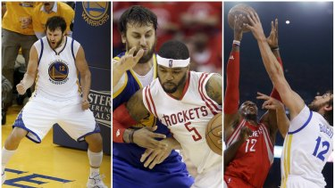 NBA Finals 2015  Andrew Bogut appears content to fill role defined ... 50111dc94