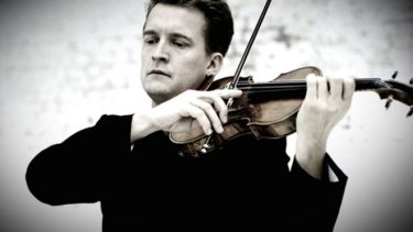 Golden warmth and strength: Violinist Christian Tetzlaff.