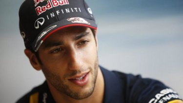 """I'm very competitive. If I have to 'turn it on', I know how to"": Daniel Ricciardo."