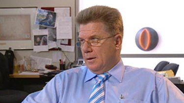 Chris Mitchell, editor-in-chief of The Australian newspaper.