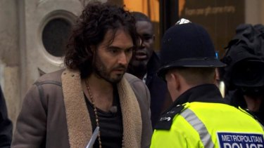 Russell Brand in <i>The Emperor's New Clothes</i>: How seriously does the comedian wish to be taken?