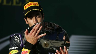 Disqualified: Daniel Ricciardo.