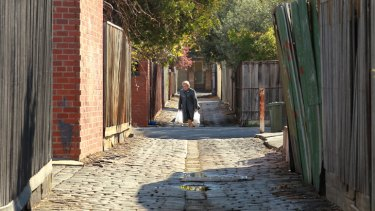 Moreland Council has acted to save its historic bluestone laneways.