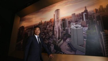 Adrian Sum from Sino Ocean Land, one of China's largest property developers.