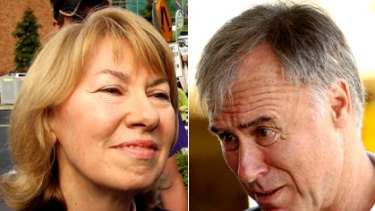 Battle for Bennelong ... Maxine McKew and John Alexander.