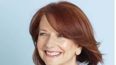 Julia Gillard in the photo spread...with necklace.