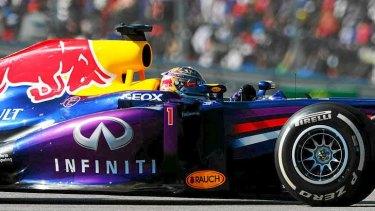 Sebastian Vettel led the US Grand Prix for all but two laps.