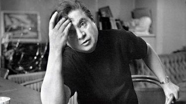 Tortured artist … Francis Bacon, aged 62 in 1971.
