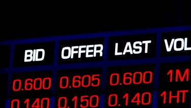 The Australian sharemarket closed lower on Monday, recording its worst performance in two weeks.