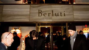 Berluti has been aggressively ramped up to tap into the booming interest in luxurious men's fashion.