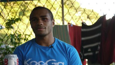 Will Genia ... back in his childhood home in PNG.