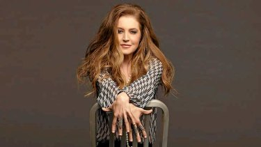Star turn: Lisa Marie Presley.