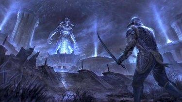 Molag Bal, Malcolm McDowell's character in Elder Scrolls Online.