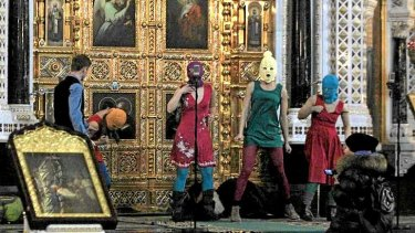 "Unorhodox: In July 2012, the radical feminist group Pussy Riot chanted a ""punk prayer"" against Vladimir Putin at Moscow's Christ the Saviour Cathedral."