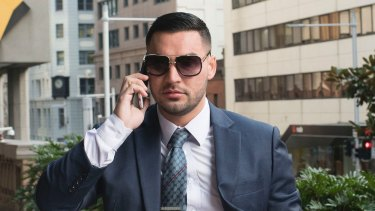Mehajer at an earlier court appearance. He did not appear for Wednesday's hearing.