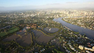 Brisbane floods: Many properties in the CBD and New Farm were affected by backflow flooding, says engineers.