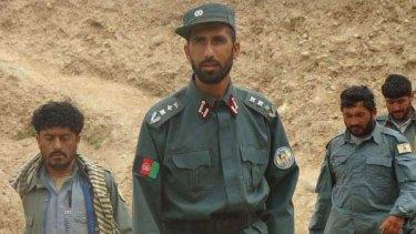 Afghan warlord Matiullah Khan.