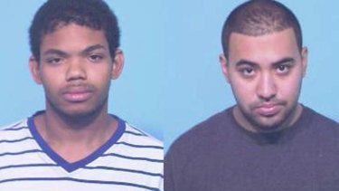 Accused ... Anthony Malcolm, left, and Nicholas Ayala.