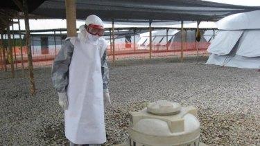 Sue Ellen Kovack worked with Ebola patients in Sierra Leone.