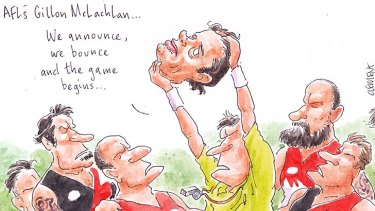 Game on for Gillon McLachlan.