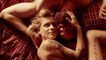 Veerle Baetens and Jonah Heldenbergh in <i>The Broken Circle Breakdown</i>.