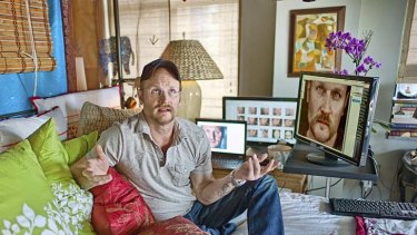 Tough love ... Augusten Burroughs pulls no punches in his latest book.