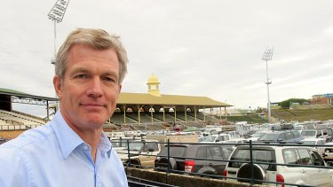 RNA chief executive Jonathan Tunny is the project director of the $2.9 billion RNA Showgrounds transformation.
