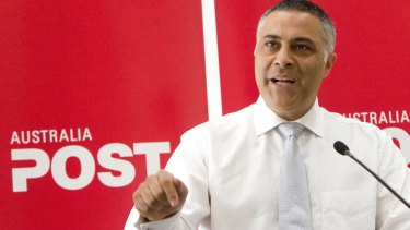Thinking big: Australia Post chief Ahmed Fahour.