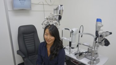 Jessica Chi's optometry career is a juggling act she enjoys.