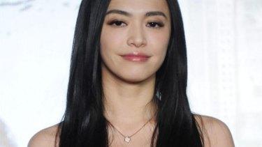 Chinese actress Yao Chen.