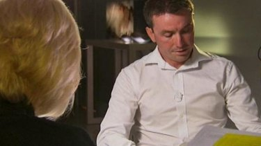 Emotional: James Ashby on <i>60 Minutes</i>.