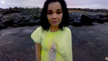 The video clip was filmed on an island in Iceland, the same spot where Björk wrote the song.