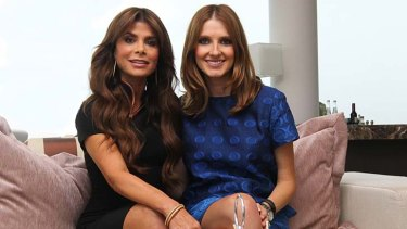 On song: Paula Abdul with Kate Waterhouse.