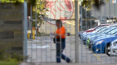 Workers at Holden's Fishermans Bend site know little about the car maker's future.