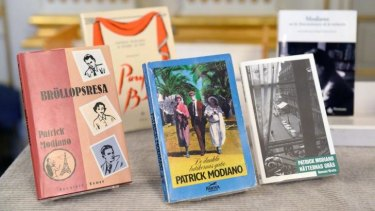 """Books by French author Patrick Modiano, who won """"for the art of memory with which he has evoked the most ungraspable human destinies and uncovered the life-world of the occupation""""."""