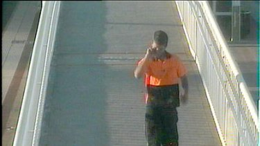 Police want to speak to this man who was captured on CCTV footage on Monday after a woman was sexually assaulted near Edgewater train station.