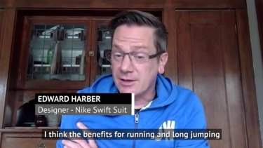 @Nike Swift Suit designer for Cathy Freeman, Edward Harber is certain that the full suit will make a return in athletics. #Tokyo2020
