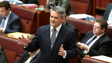 Finance Minister Mathias Cormann announced the deal in the Senate on Tuesday.
