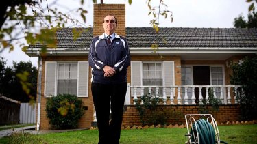 Nigel Cowan, 71, stands in front of his old house in Dale Street, Bulleen. Decades ago, he sold up over a government pledge to bring public transport to the north-eastern suburbs.