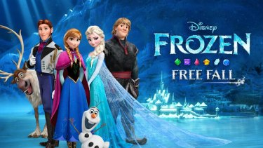 Frozen Free Fall s one of 42 Disney apps named in the lawsuit.