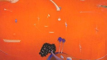 The suspected fake <i>Orange Lavender Bay</i>.