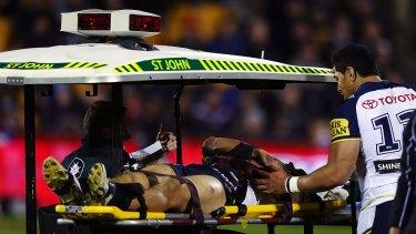 Injured: James Tamou.