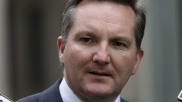 Former Labor immigration minister Chris Bowen has given evidence at the Human Rights Commission inquiry into children in detention.