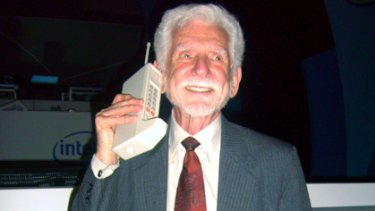 Martin Cooper, the inventor of the mobile phone.