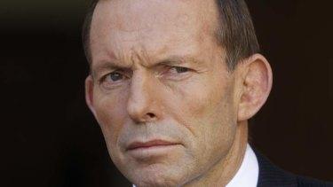 Prime Minster Tony Abbott: refuses to reform the system.