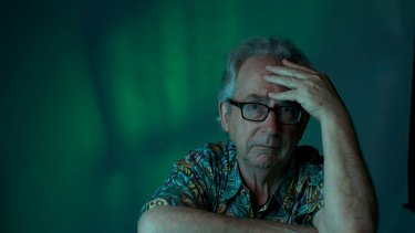 Australian author Peter Carey. 20th October 2014. Photo: Steven Siewert