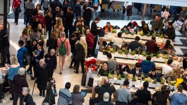 Australians are visiting shopping centres less and less.